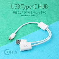 Coms USB 3.1 케이블 (Type C), USB 2.0 A(F)/A(M)