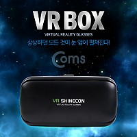 Coms 스마트폰 VR기기, 헤드기어/100도 / 헤드폰 일체형 / 쿠션 탈부착 가능