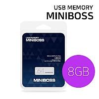 USB메모리 카드 (MINIBOSS) 8GB / 미니 스윙형