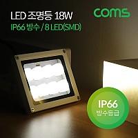 Coms LED 작업등(18W / IP66방수) 8LED (SMD) Light / LED 램프 / 조명 / DC전원