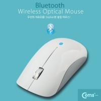 Coms 블루투스 마우스  BM-700  1000 DPI, 화이트