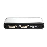 Coms DVI 분배기 - 4:1 제품/ 최대 1280 x 1024 해상도 지원