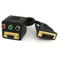 Coms DVI 선택 분배기 - DVD 1포트/D-SUB 1포트/ DVI-I 지원/ 동시 분배 불가