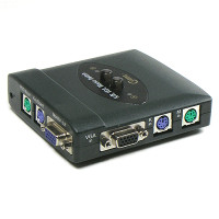 Coms KVM Switch 2:1 (국내산/수동방식)