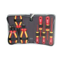 Prokit 1000V 고압용 전기작업용 공구 세트 - 8가지 / 공구툴 모음 / 휴대용 케이스(패키지), 작업용 툴백, 가방, 수리 키트