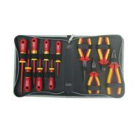 Prokit 1000V 고압용 전기작업용 공구 세트 - 11가지, 공구툴 모음 / 휴대용 케이스(패키지), 작업용 툴백, 가방, 수리 키트