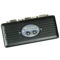 Coms 모니터/오디오 선택기 2:1 (RGB/Stereo 신호)